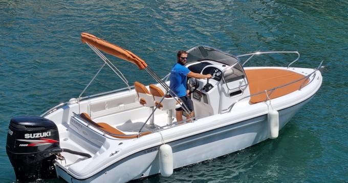 Rental Motorboat in Agay - Ranieri Shadow 22
