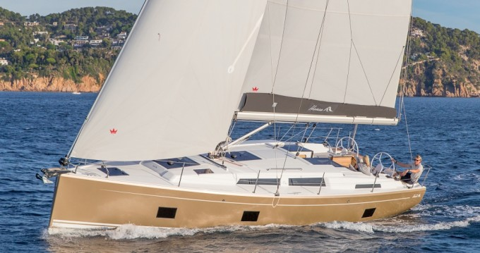 Rental yacht Lávrio - Hanse Hanse 418 on SamBoat