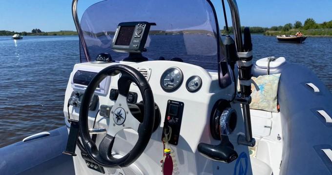 Boat rental Santa Eulària des Riu cheap Falcon 570