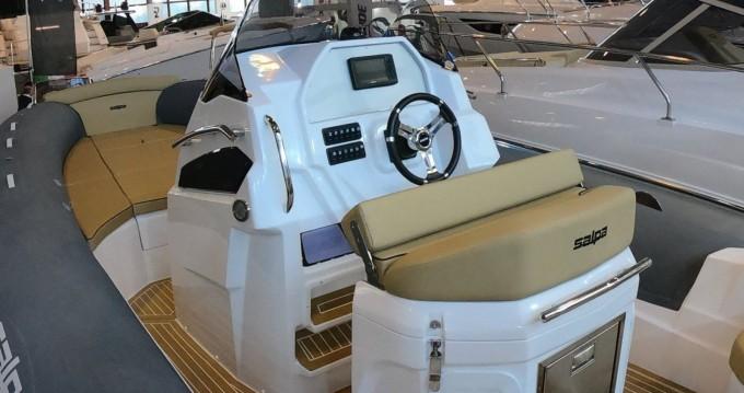 Hire RIB with or without skipper Salpa Mandelieu-la-Napoule