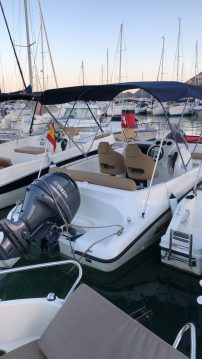 Hire Motorboat with or without skipper Remus Altea