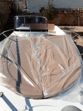 Rental Motorboat in Ciutadella de Menorca - polyeste yacht Marion 630 cabine