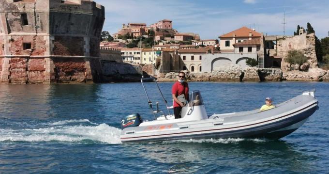 Hire RIB with or without skipper Sacs Rada di Portoferraio
