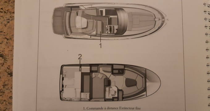 Jeanneau Leader 8 between personal and professional Nice Ferry Port