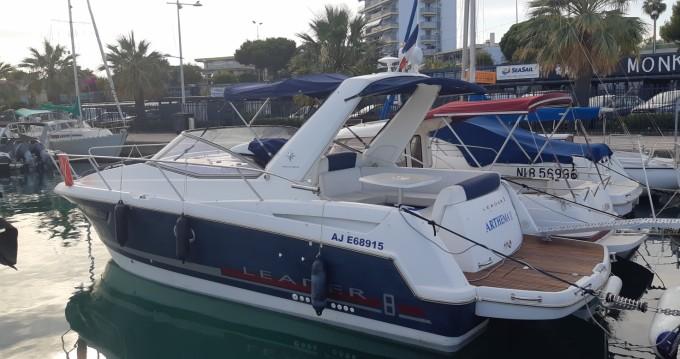 Rent a Jeanneau Leader 8 Nice Ferry Port