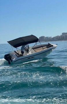 Hire Motorboat with or without skipper Karel Puerto Marina Benalmadena