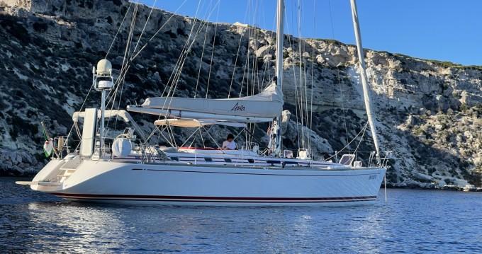 Rental Sailboat Nautor Swan with a permit