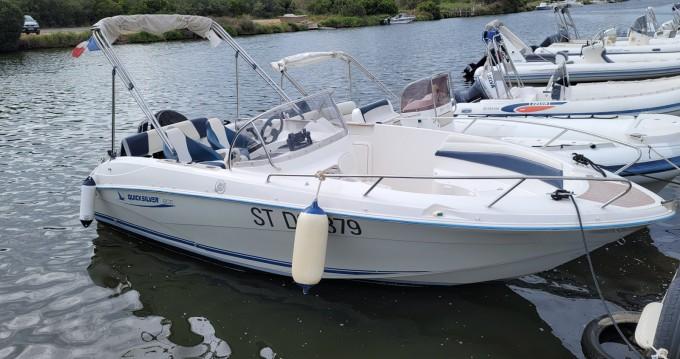 Boat rental Quicksilver Quicksilver 600 in Saint-Florent on Samboat