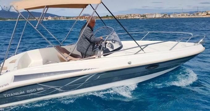 Boat rental Fréjus cheap Titanium 650 WA