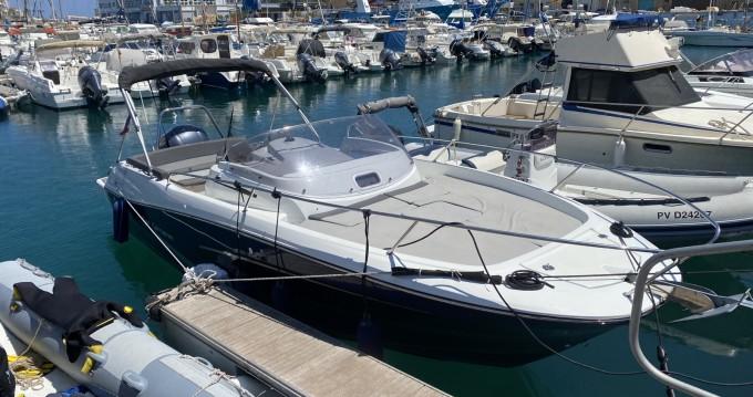 Boat rental Port-Vendres cheap Cap Camarat 7.5 WA Serie 2