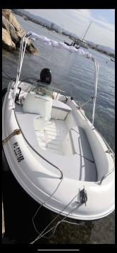 Boat rental Pointe-Rouge cheap Cap 400 Console