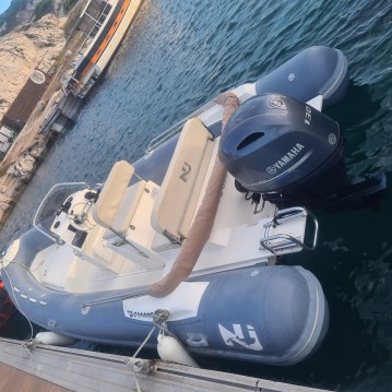 Hire RIB with or without skipper Nuova Jolly Old Port of Marseille