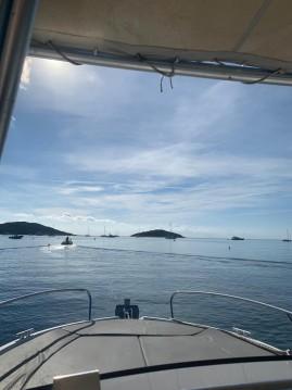 Rental Motorboat in Lecci - Bénéteau Flyer 750 Sun Deck Rubis