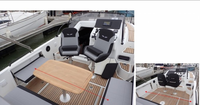 Boat rental Krk cheap Beneteau Flayer 8000KK