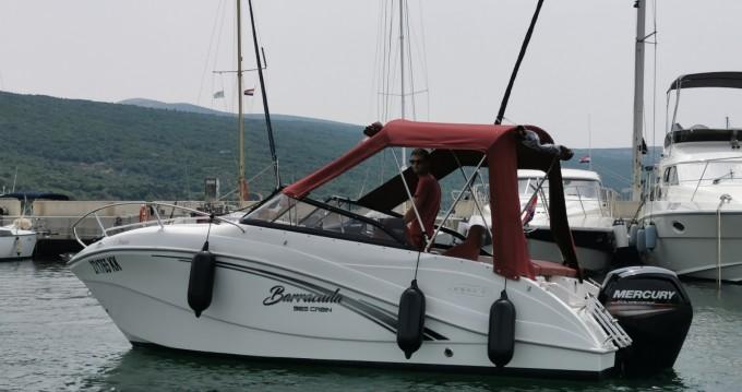 Rental Motorboat in Krk - Okiboats Barracuda 585