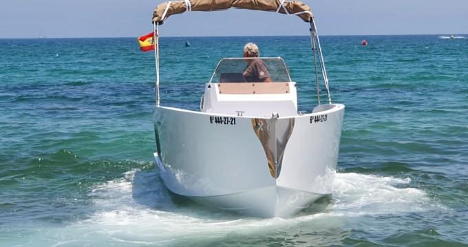 Rental Motorboat in Santa Pola - Mattrix  21