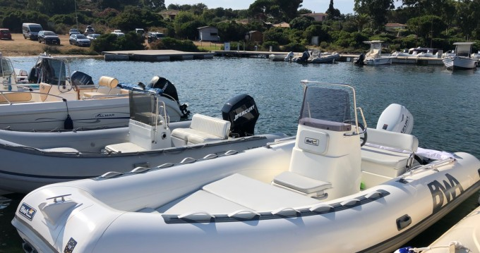 Bwa California 550 between personal and professional Porto Pozzo