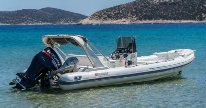 Rental yacht Platis Gialos - Olympic 7.2m on SamBoat