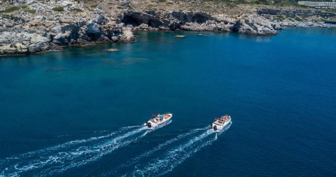 Boat rental Rhodes cheap Paxos 170