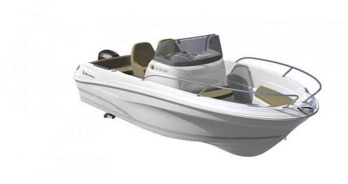 Boat rental Six-Fours-les-Plages cheap Cap Camarat 555