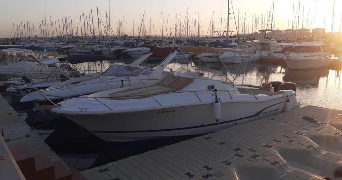 Boat rental Port de Alicante cheap Cap Camarat 925 WA