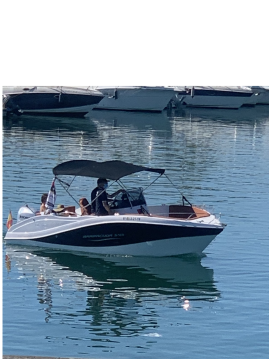 Motorboat for rent Santander at the best price