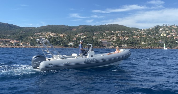 Hire RIB with or without skipper Bwa Mandelieu-la-Napoule