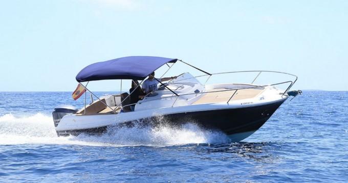 Boat rental Torrevieja cheap Cap Camarat 7.5 CC