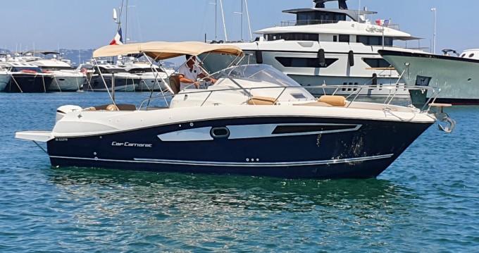 Boat rental Mandelieu-la-Napoule cheap Cap Camarat 8.5 WA