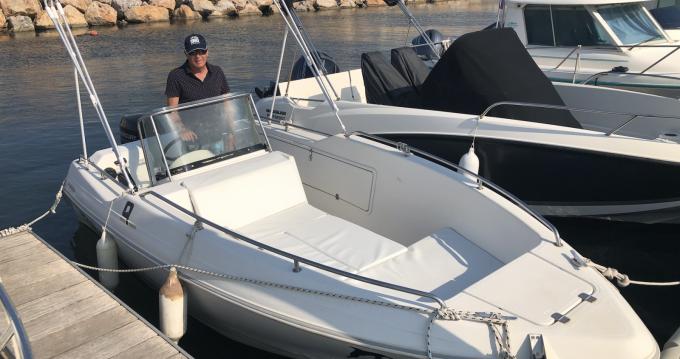 Rental Motorboat in Argelès-sur-Mer - Quicksilver Quicksilver 500 Commander