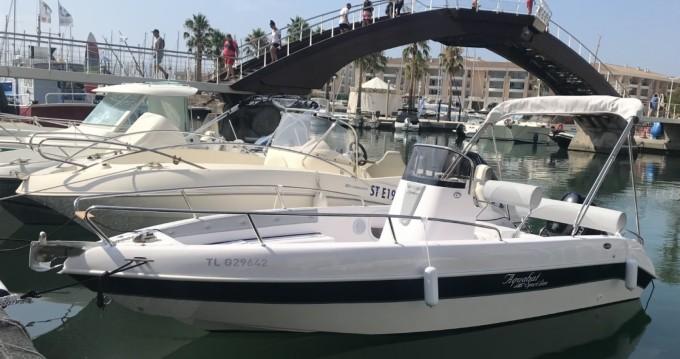 Rental yacht Fréjus - Aquabat Sport Line 19 on SamBoat