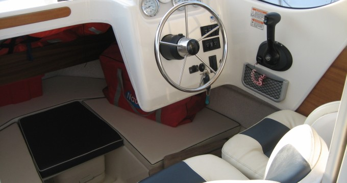 Rental Motorboat in Port Cap d'Agde - Quicksilver Quicksilver 640 Week-End