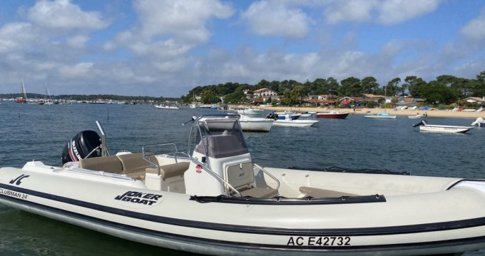 Joker Boat Clubman 24 between personal and professional Lège-Cap-Ferret