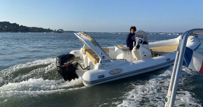 Boat rental Lège-Cap-Ferret cheap King 720 Extreme