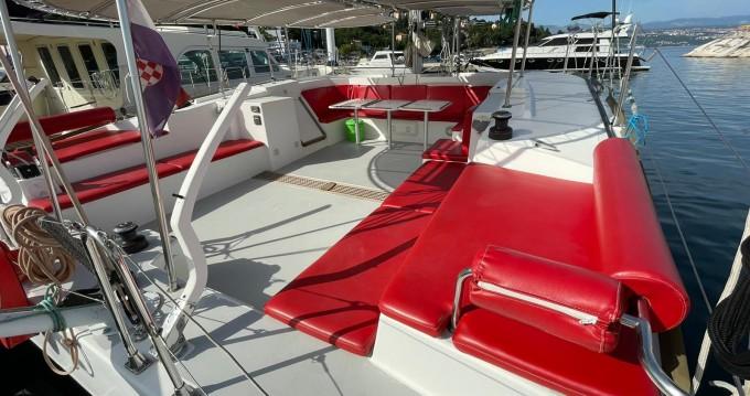 Catamaran for rent Opatija at the best price