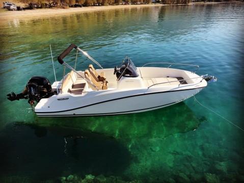 Boat rental Quicksilver Activ 605 Open in Kotor on Samboat