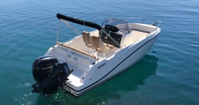 Boat rental Kotor cheap Activ 605 Open