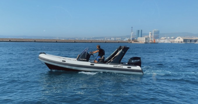 Boat rental Brig Eagle 650 in Marseille on Samboat