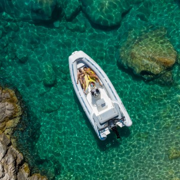 Hire RIB with or without skipper Master Dubrovnik