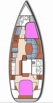 Boat rental Poole cheap OCEANIS 40 CC