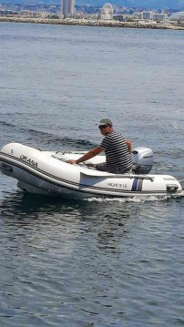 Hire RIB with or without skipper Highfield Marseille