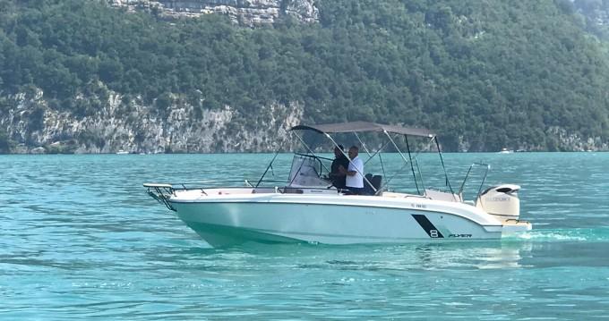 Boat rental Saint-Jorioz cheap Flyer 8 SPACEdeck
