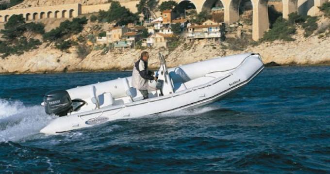 Rental RIB in Marseille - Bombard Explorer 620 SB II