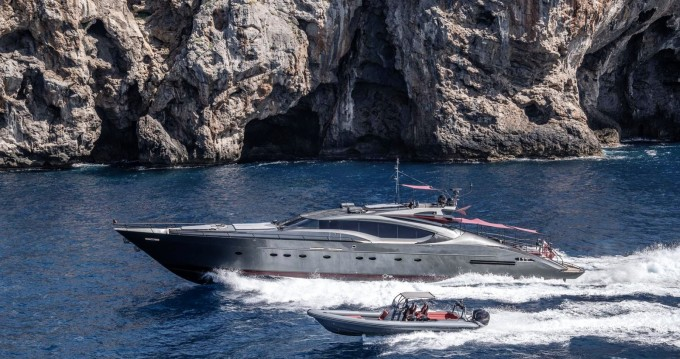 Boat rental Palmer Johnson 120 in Ibiza Island on Samboat
