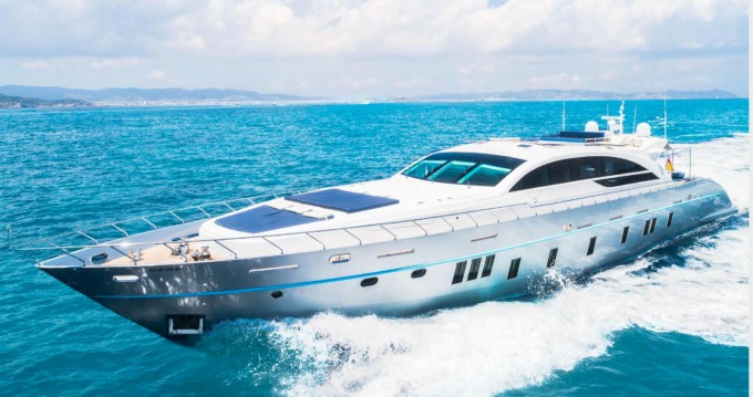 Rental yacht Ibiza Town - Tecnomar 120 on SamBoat