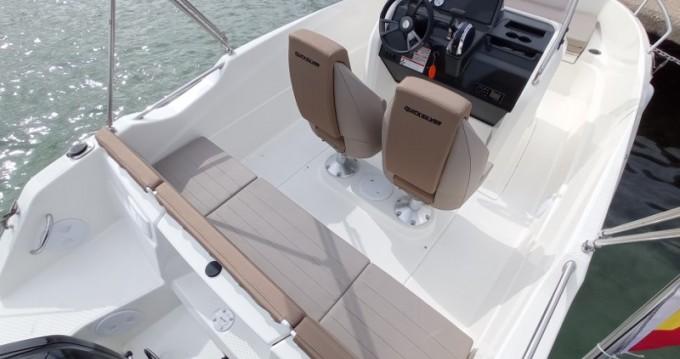 Boat rental Boleor Q555 'Astreo' (6p/115hp) in Can Pastilla on Samboat
