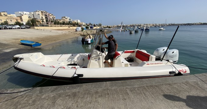 Hire RIB with or without skipper Nuova Jolly Imsida