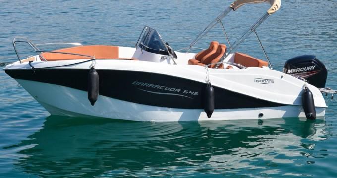 Rental yacht Kotor - Okiboats Barracuda 545 Open on SamBoat