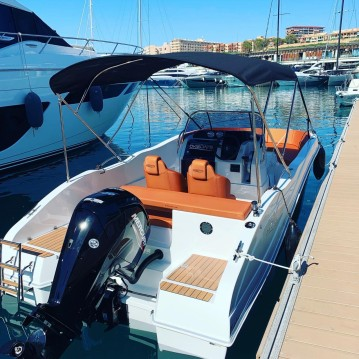 Boat rental Okiboats Barracuda 545 Open in Kotor on Samboat