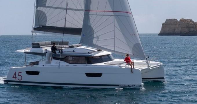 Rental Catamaran in Pleasant Valley - Fountaine Pajot Elba 45